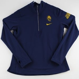 Nike Women's Dri-fit Pullover 1/4 Zip Size Large